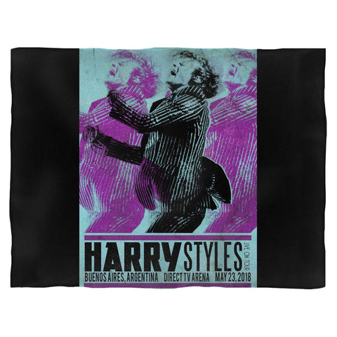 Harry Styles Tour In Argentina Blanket