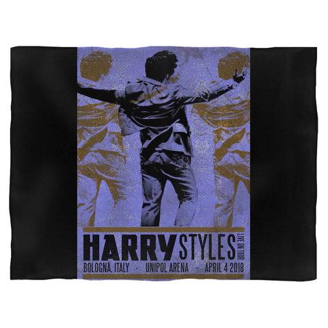Harry Styles Tour In Bologna, Italy Blanket