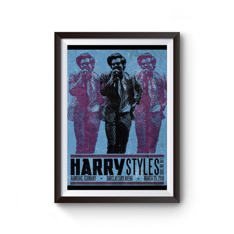 Harry Styles Tour In Hamburg Poster