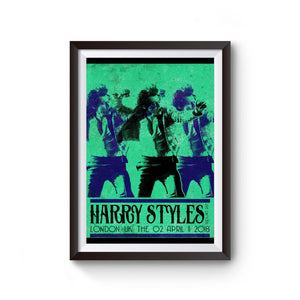 Harry Styles Tour In London Poster