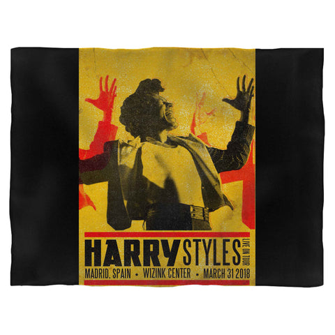 Harry Styles Tour In Madrid, Spain Blanket