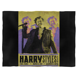 Harry Styles Tour In Paris, France Blanket