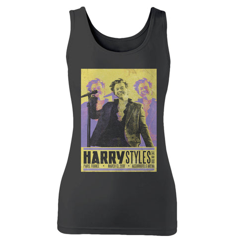 Harry Styles Tour In Paris, France Woman's Tank Top