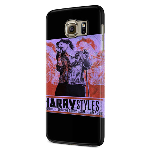Harry Styles Tour In Singapore Samsung Galaxy S6 S6 Edge Plus/ S7 S7 Edge / S8 S8 Plus / S9 S9 plus 3D Case