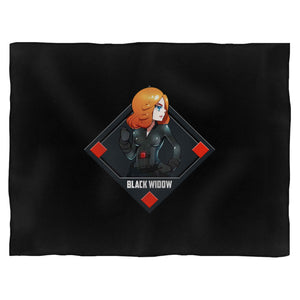 Hero Black Widow Blanket