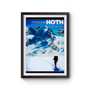 Hoth Star Wars Poster