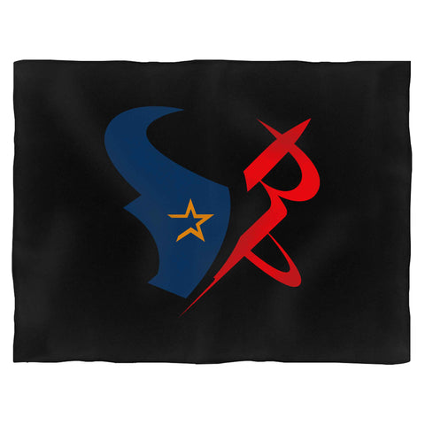 Houston Sports Team Mashup Astros Rockets Texans Blanket