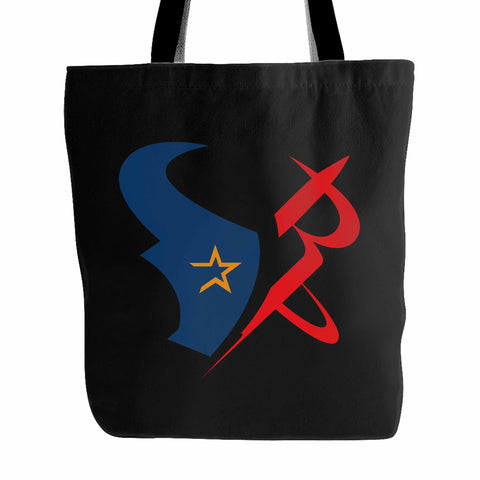 Houston Sports Team Mashup Astros Rockets Texans Tote Bag
