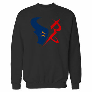 Houston Sports Team Mashup Astros Rockets Texans Sweatshirt
