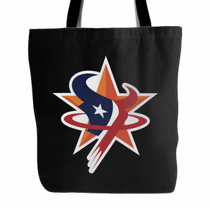 Houston Sports Team Tote Bag