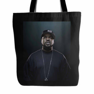 Ice Cube Rapper Tote Bag