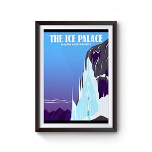 Ice Palace Disney Frozen Poster