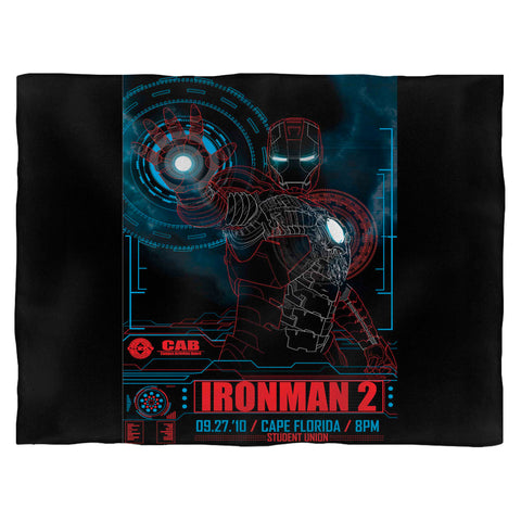 Ironman 2 Art Blanket