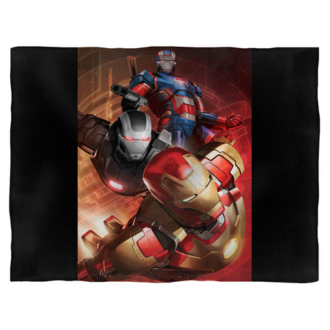 Ironman Armor Movie Blanket