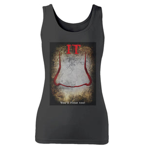 It Movie You Will Float Too! Woman's Tank Top