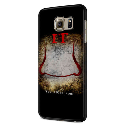 It Movie You Will Float Too! Samsung Galaxy S6 S6 Edge Plus/ S7 S7 Edge / S8 S8 Plus / S9 S9 plus 3D Case