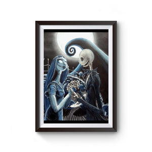 Jack And Sally Loving Poster