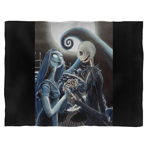 Jack And Sally Loving Blanket