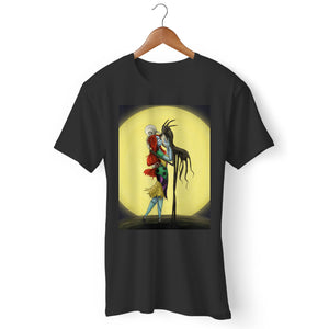 Jack And Sally Loving Kiss Man's T-Shirt