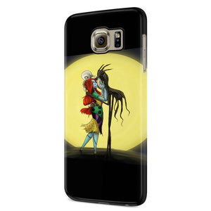 Jack And Sally Loving Kiss Samsung Galaxy S6 S6 Edge Plus/ S7 S7 Edge / S8 S8 Plus / S9 S9 plus 3D Case