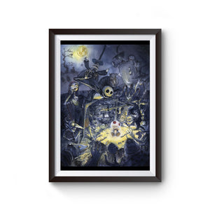 Jack And Sally Skellington Friend Poster