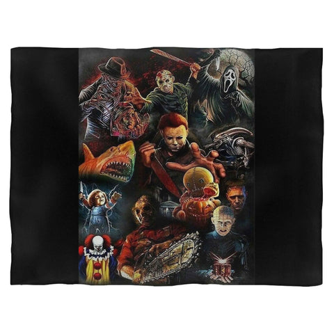 Jason Voorhees Classic Horror Movie Blanket