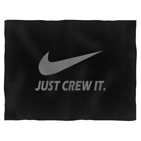 Just Crew It Blanket