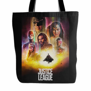 Justice League 3 Tote Bag