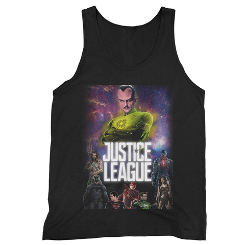 Justice League 4 Man's Tank Top