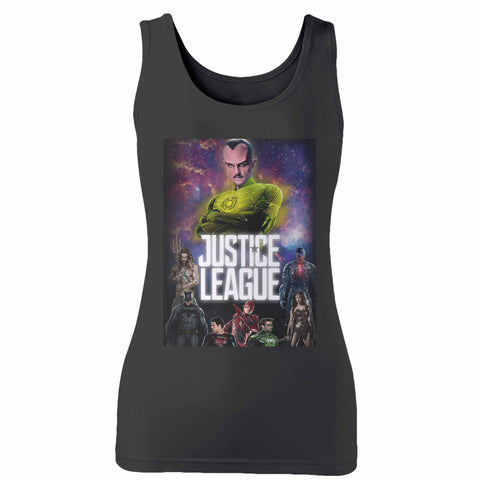Justice League 4 Woman's Tank Top
