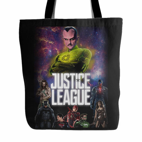 Justice League 4 Tote Bag