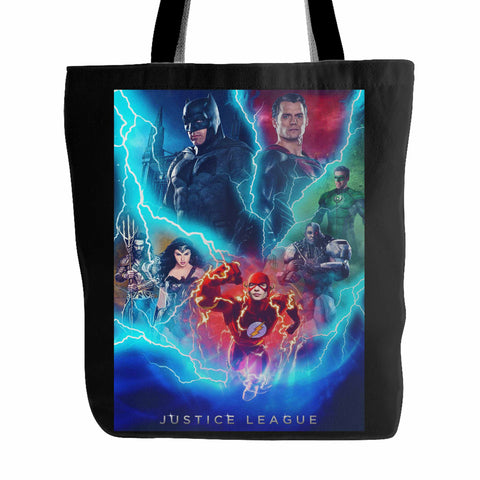 Justice League 5 Tote Bag