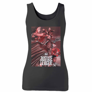 Justice League 8 Woman's Tank Top