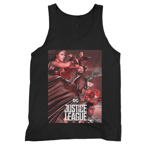 Justice League 8 Man's Tank Top