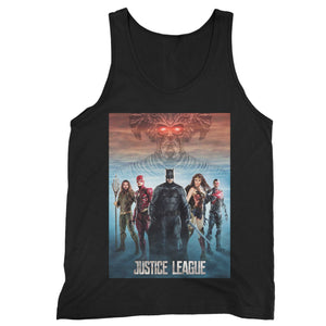 Justice League 9 Man's Tank Top