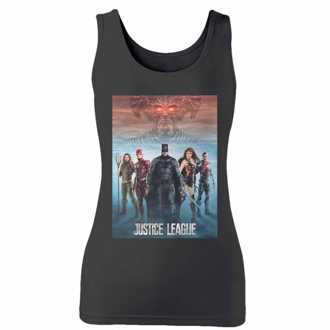 Justice League 9 Woman's Tank Top
