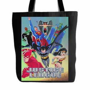 Justice League Animated Series Tote Bag