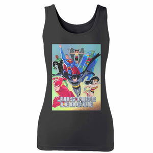 Justice League Animated Series Woman's Tank Top