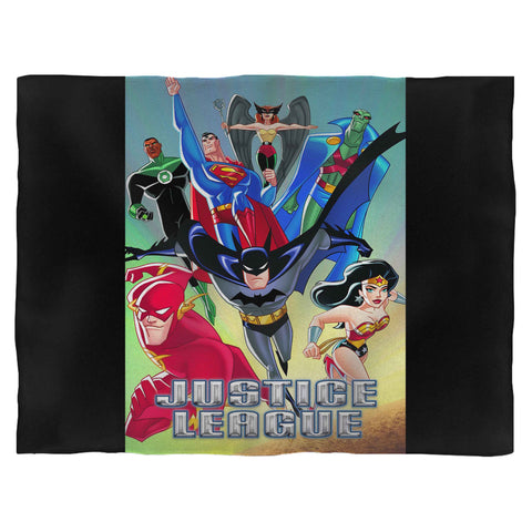 Justice League Animated Series Blanket