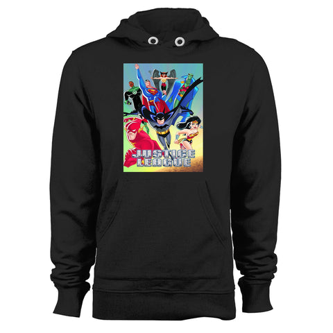 Justice League Animated Series Unisex Hoodie