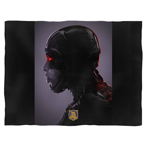Justice League Cyborg Blanket