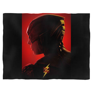 Justice League Flash Character Blanket