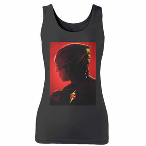 Justice League Flash Character Woman's Tank Top