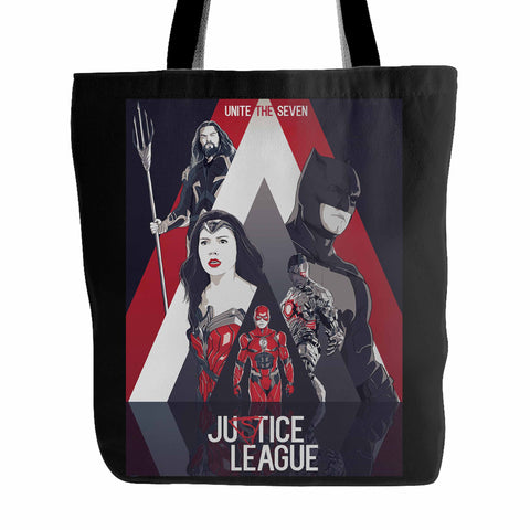 Justice League Unite The Seven Tote Bag