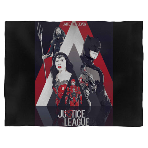 Justice League Unite The Seven Blanket