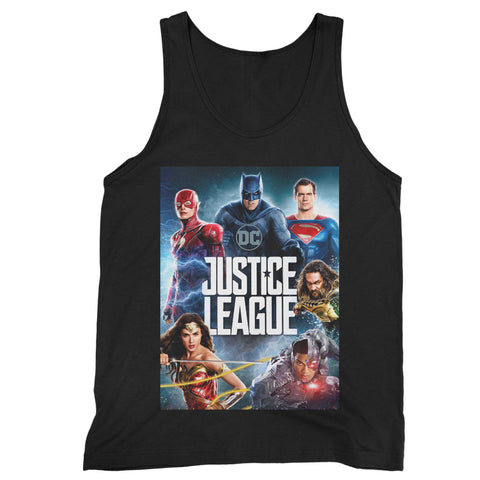 Justice League Man's Tank Top