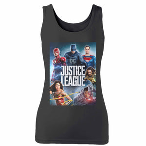Justice League Woman's Tank Top