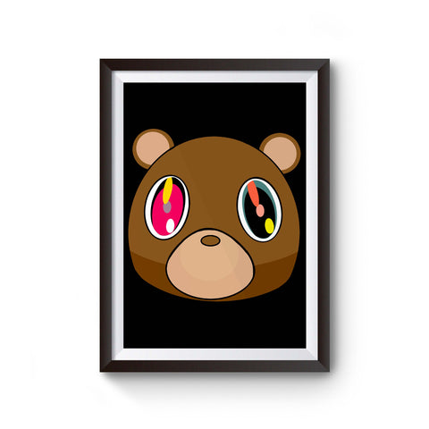 Kanye West Dropout Bear Poster