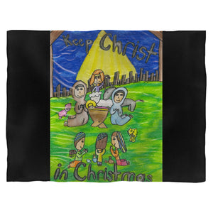 Keep Christ In Christmas 2 Blanket