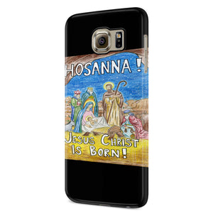 Keep Christ In Christmas 3 Samsung Galaxy S6 S6 Edge Plus/ S7 S7 Edge / S8 S8 Plus / S9 S9 plus 3D Case